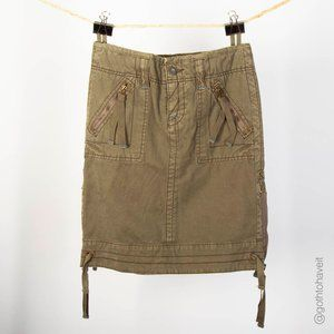 American Eagle Outfitters Military Skirt